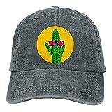 Gorra Cactus Color Gris Ajustable Cactus Con Lentes Sport Baseball