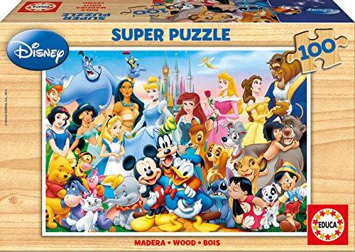 Educa 12002 - 100 Il Meraviglioso Mondo di Disney