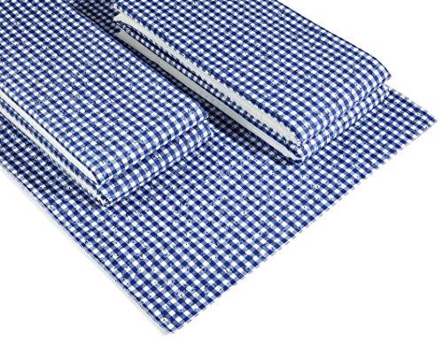 beo MFZ13 FZ 100/2 LU Festzeltauflagen Set für 70 cm, Tische, 2 Bankauflagen 220 x 25 cm mit 1 Tischdecke 240 x 100 cm