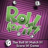 Calliope Games 330270 Roll for It Purple Edition (Pearl) Board Game, Multicoloured