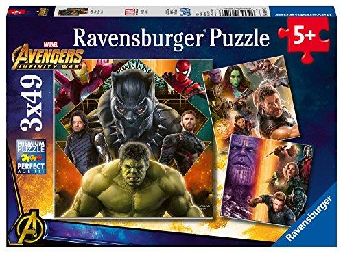 Ravensburger- Avengers Infinity War Puzzle, 8049