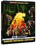 Jumanji: Bienvenidos A La Jungla (4K UHD) - Edición Especial Metal Exclusiva Amazon [Blu-ray]