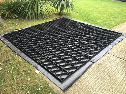 "the ECO DECK 8x6 GARDEN SHED BASE GRID is the winner of our ""Best Pick"". Made from recycled plastic, this model can support tonnes of weight for decades. The plastic is UV stable and comes with 25 years warranty."