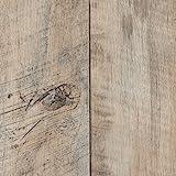 PVC Bodenbelag Holzoptik | Dielenoptik Eiche weiß | 200, 300 und 400 cm Breite | Meterware, verschiedene Größen | Größe: 4 x 4 m