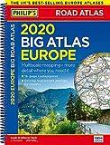 2020 Philip's Big Road Atlas Europe: (A3 Spiral binding) (Philips Road Atlas)