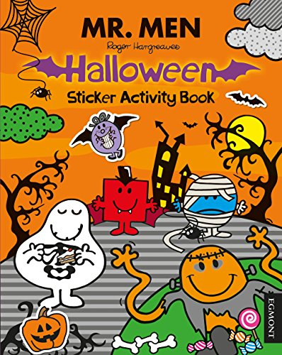 Mr Men. Halloween Sticker. Activity Book