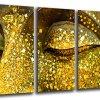 murando - Cuadro de Cristal acrílico 200x100 cm - Cuadro de acrílico - Impresion en Calidad fotografica - Buda h-C-0034-k-m 2