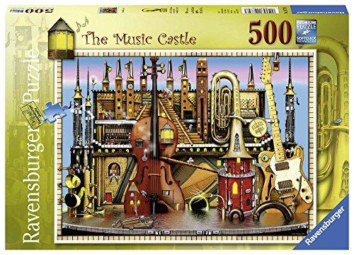 Ravensburger Italy 14779 The Music Castle Puzzle 500 Pezzi
