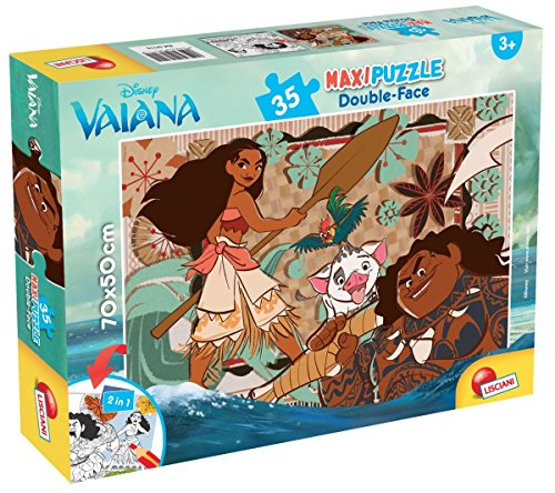 Lisciani Giochi 57115 - Puzzle Df Supermaxi 35 Vaiana