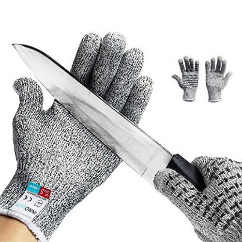 Guanti Antitaglio,InnoBeta guanti di sicurezza da lavoro, guanti antiscivolo Touch screen, guanti da...