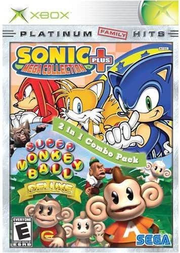 Sonic Mega Collection Super Monkey Ball Deluxe Xbox