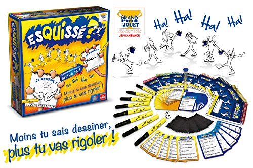 Goliath-76201006-Jeu-de-Plateau-70-cartes-recto-verso-Esquiss