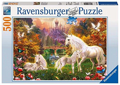 Ravensburger Italy Unicorni A Puzzle 500 Pezzi, 141951