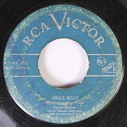 CARSO ROBISON 45 RPM JINGLE BELLS / PADDY DEAR