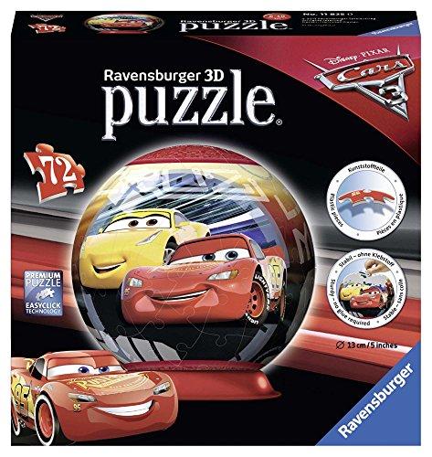 Ravensburger Italy Puzzle 3D Cars, 72 Pezzi 11825