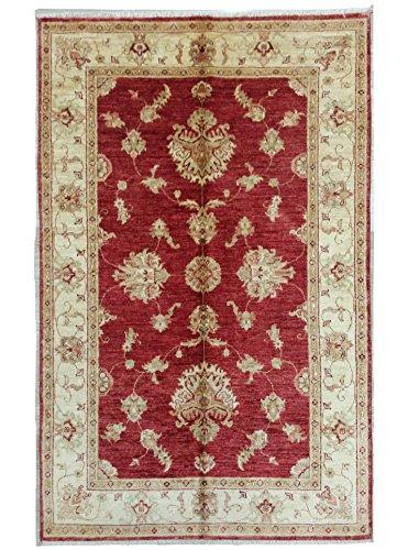 AD470 - Fatto a Mano Autentico Tappeto ZIEGLER Originale India, Cm.185 x115 - tappeti persiani e...