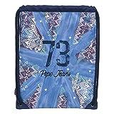 Pepe Jeans 73 Mochila Saco, Color Azul, 1.54 Litros