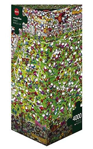 Heye 29072, La Pazza Coppa del Mondo, Mordillo, Puzzle da 4000 pezzi