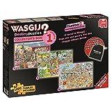 Wasgij 3 in 1 1000 Piece Destiny Collectors Box Volume 1 Cartoon Jigsaw Puzzles