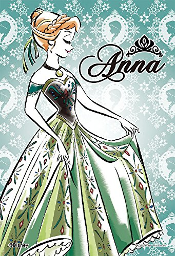 70-piece jigsaw puzzle prism Art Petit Ana and The Snow Queen Ana -Anna- (10x14.7cm)