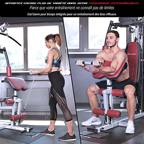Sportstech VAINQUEUR du Test* La Station de Musculation Premium 30en1 HGX100 de pour des Variantes d'entraînement innombrables. Home-Gym Mul... 26