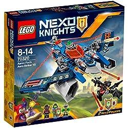 LEGO Nexo Knights - Aaron's Aero Striker, Juegos de construcción, 301 Piezas (70320)