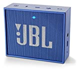 JBL GO Diffusore Bluetooth Portatile, Ricaricabile, Ingresso Aux-In, Vivavoce, Compatibilità Smartphone/Tablet e Dispositivi MP3, Blu