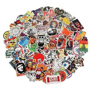 Xpassion Aufkleber Pack, Wasserdicht Vinyl Stickers Graffitti Decals Stickerbomb für Auto Mottoräde Fahrrad Skateboard Gepäck Laptop Computer 4