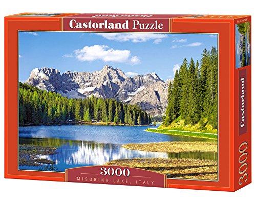 Castor 300198 - Dolimiti, Lago di Misurina - Puzzle 3000 pezzi