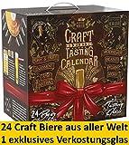 Kalea Craft Beer Adventskalender 2019   24 x 0.33 l Craft Biere   Geschenkidee Zur Vorweihnachtszeit