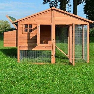 Klein aber fein der Hühnerstall für den Garten