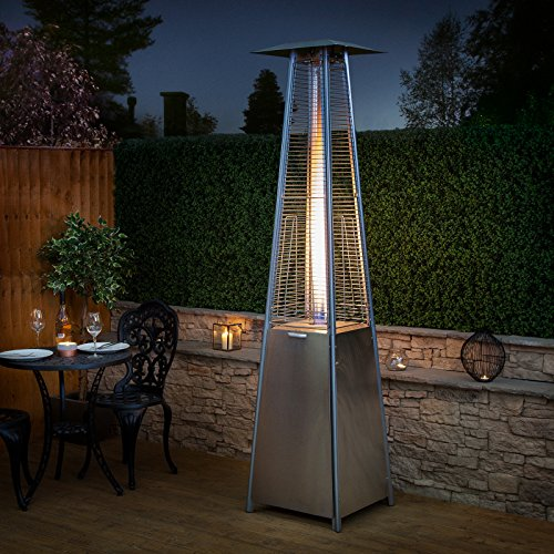 Pyramid Living Flame Garden Gas Patio Heater Review