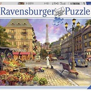 Ravensburger Puzzle, Puzzle 500 Piezas, De Paseo Por París, Puzzles para Adultos, Puzzle París, Rompecabezas…