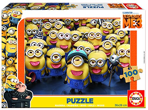 Educa Borrás - 17233.0 - Puzzle da 100 Pezzi The Movie: Un Superchina Cinghia 7,6 cm