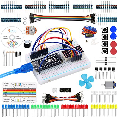 Emakefun for Arduino Nano Project Super Starter Kit with Detailed Tutorial for Uno R3 Mega 2560 ...