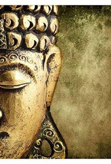 Deco Soon Cuadro con Diseño de Buda, Color Dorado