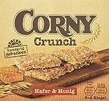 CORNY Crunch Hafer & Honig, knackiger Müsliriegel, 9er Pack (9 x 120g Schachtel mit je 3 x 2 Riegeln)