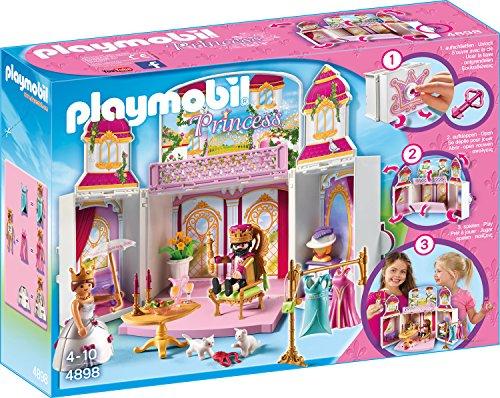 "PLAYMOBIL 4898 - Aufklapp-Spiel-Box ""Königsschloss"""