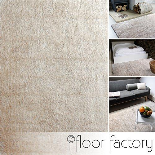 Tappeto moderno Delight beige 160x230cm - tappeto esclusivo morbido e serico