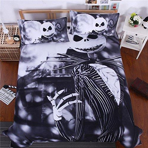 Celo Beddingoutlet Bedding Nightmare Before Christmas Cool lenzuola stampato morbido Twin Full Queen...
