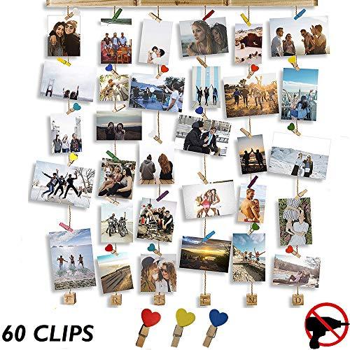 Cornici Foto Multiple Da Parete - Portafoto Da Parete Multiplo - No Trapano - Porta Foto Da Parete...