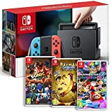 Console Nintendo Switch Neon + Rayman Legends + Sonic Forces + Mario Kart 8