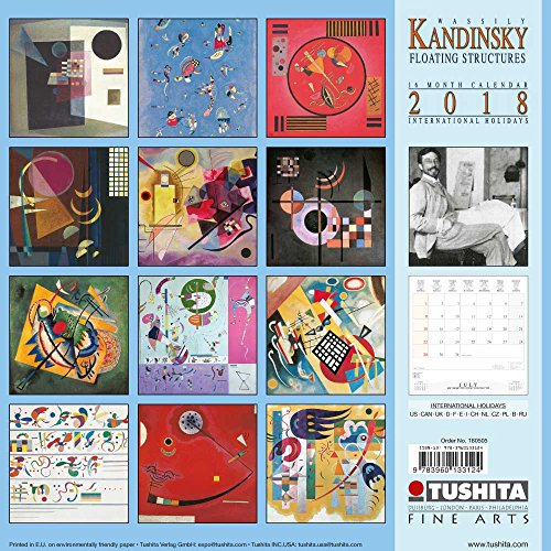 Wassily Kandinsky Floating Structures 2018 (Fine Arts)