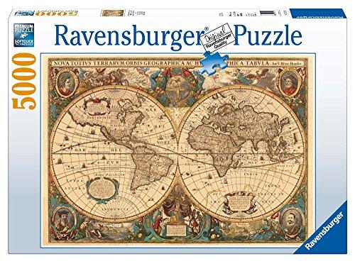 Ravensburger 17411 Antico mappamondo Puzzle 5000 pezzi