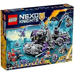 LEGO Nexo Knights - La Morada de Jestro, Juguete de Construcción de Aventuras con Grúa Perforadora (70352)