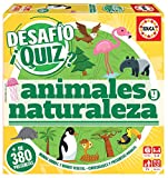 Educa Borrás- Desafio Quiz-Animales Y Naturaleza, Color Variado (18219)