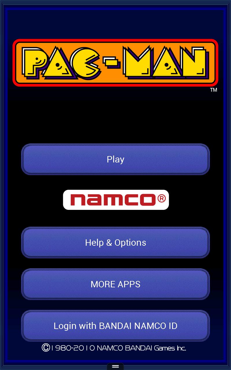 PAC-MAN HD Screenshot