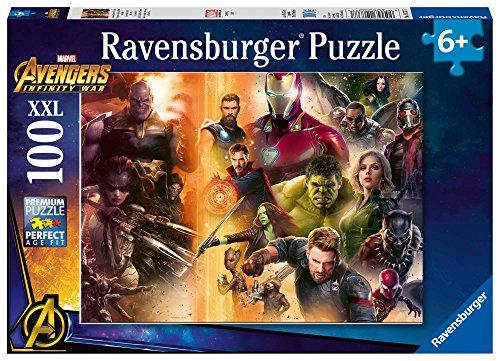 Ravensburger Avengers Infinity War - Puzzle 100 Pezzi