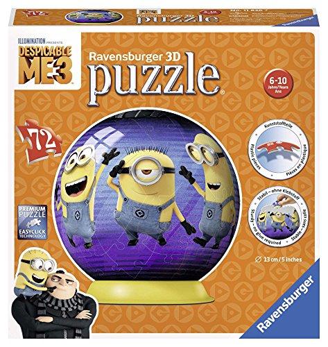 Ravensburger Italy Minions Puzzle 3D, 72 Pezzi 11826