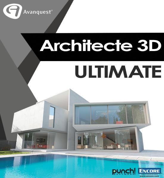 Architecte 3D Ultimate 2017 (V19) [Téléchargement]